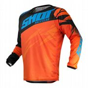 Shot Devo Ventury MX Jersey Orange/Cyan